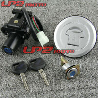 Motorcycle Ignition Switch Lock Key Gas Cap Set For Honda 250 Hornet250