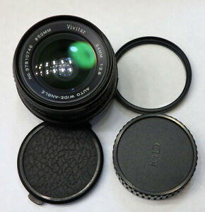 ✅Serviced✅ Vivtar by Tokina 24mm f2.8 for Minolta MD Wide Angle Prime 37810746