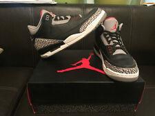 air jordan 3 retro black cement us 11 in vendita   eBay
