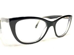 Ray Ban RB5322 2034 Women's Black & Clear Cat's Eye Eyeglasses Frames 53/18~140