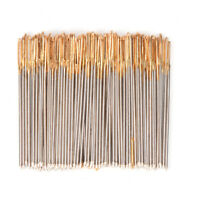 90-100P/Lot Golden Tail Embroidery Fabric Cross Stitch Needles Size 24 For 11CT