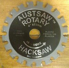 Austsaw Rotary Hacksaw 103mm 4 Inch 16mm Bore