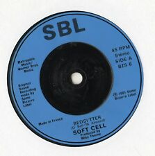 "Soft Cell - Bedsitter 7"" Single 1981"