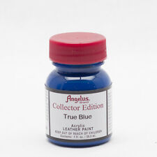 Angelus Brand Collector Edition True Blue leather paint 1 oz. bottle