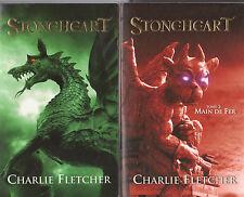 STONEHEART tomes 1 ET 2 Charlie FLETCHER livre jeunesse roman