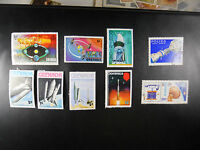 MIXED LOT VINTAGE WORLD POSTAL POSTAGE STAMPS SPACE EXPLORATION SHUTTLE GRENADA