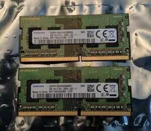 Samsung 8GB 2x4GB DDR4 2666MHz PC4-21300 SO-DIMM M471A5244CB0-CTD LAPTOP HP DELL