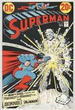 Superman #266 August 1973 NM- Black Cover – Abominable Snowman