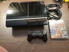 New listing sony playstation 3 80gb black console