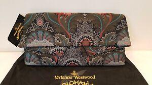 Vivienne Westwood Anglomania Large Jungle Clutch Bag BNWT