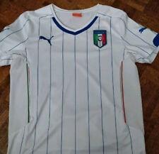 Puma Italy Soccer Jersey Youth XL White Italia Italy