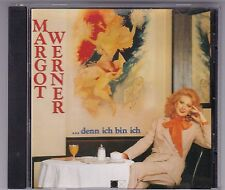 MARGOT WERNER - ...DENN ICH BIN ICH CD ALBUM BELLAPHON © 1991 GERMANY RAR! OOP!