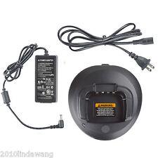 Charger for Motorola P185 CP476 CP477 CP1200 CP1660 Portable Radio