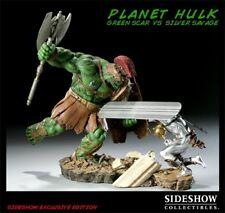 Marvel Green Scar VS Silver Savage Polystone Diorama Sideshow Used JC