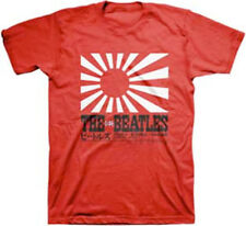 The Beatles-Rising Sun-Large Red T-shirt