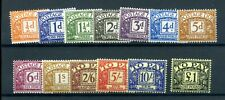 GB 1959 postage dues set fine MNH