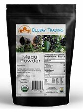 MAQUI BERRY Powder Freeze Dried Organic 4 oz. Pure Maqui FREE SHIPPING
