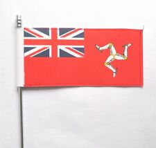 Isle of Man Civil Red Ensign Ultimate Table Flag