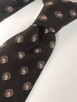 Vtg Valentino One of a Kind Beautiful Lady All Over Print Italian Luxury Tie