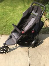Phil&teds Double Pram v2 sport plus accessories black used