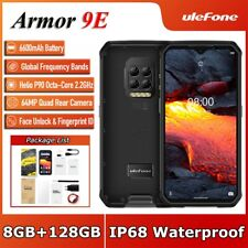 Ulefone Armor 9E Rugged Phone Helio P90 Octa Core 6600mAh 8GB+128GB 64MP Camera