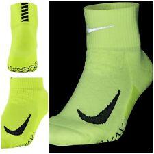 Cuarto Acolchados Nike Elite Calcetines Correr-voltios Size UK 5-6.5 EUR 38.5-40.5