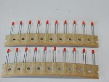 Liton Ltl 4211n Led Red 697nm 2 Pin T 1 3mm Lot Of 20 Leds Fast Shipping
