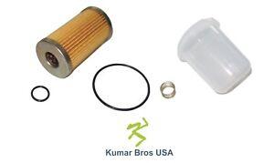 New Komatsu Excavator Fuel Filter/BOWL/Spring PC15-3 PC20-7 PC25-1