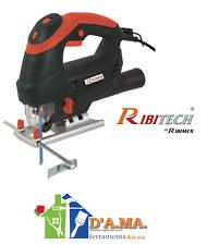 Seghetto alternativo 800w con laser guida + 3 lame in valigetta ribitech ribimex
