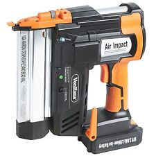 2 in 1 cordless brad nailer stapler kit - includes 2ah 18v li-ion battery