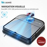 Proscenic GT320 Alexa Aspirateur robot Laveur sol Auto Visual Caméra Navigation