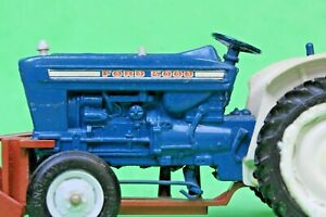 BRITAINS FARM TOYS FORD FORCE 5000 TRACTOR #9527 + MULEDOZER...!!