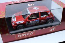 50102 NINCO RENAULT CLIO 16 vetro 93 Hervás NUOVO OVP PICCOLO ORIGINALE PLASTICA RICHIUDIBILE