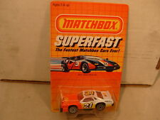 1985 MATCHBOX SUPERFAST SF12 CHEVY 21 BIG DADDY STOCKER STOCK CAR MOC