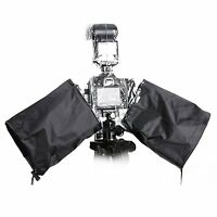 Movo CRC02 Waterproof Rain Cover w. External Flash Enclosure for DSLR Cameras