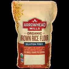 Arrowhead Mills Organic Brown Rice Flour 24 oz (680 grams) Pkg