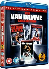 The Van Damme Collection Blu-ray DVD Region 2