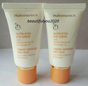 NUTRIMETICS NUTRI EYES EYE CREME 15ML X 2 BNIB RRP $96