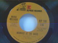 "MARIA MULDAUR ""MIDNIGHT AT THE OASIS / ANY OLD TIME"" 45"