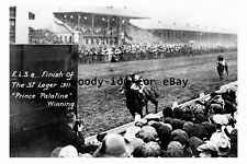 pt9216 - Doncaster Racecourse , St Leger , Prince Palatine wins 1911  photograph