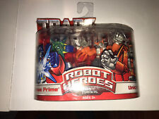 Transformers Robot Heroes G1 series Optimus Prime & Unicron figure 2-pack 2006