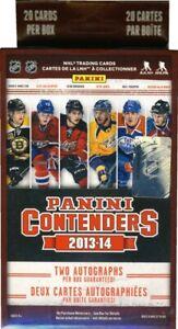 2013-14 Panini Contenders Hockey Blaster Box w/2 Autos Per