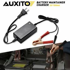 AUXITO Smart Fast Lead-acid Battery MAINTRAINER Charger Car Motorcycle 5-7AH 12V