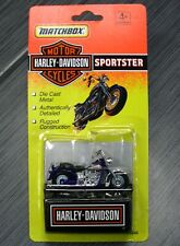 MATCHBOX HARLEY-DAVIDSON HD Motorcycle Purple SPORTSTER Brand NEW & SEALED