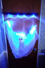 Gemmy Floating Ghost Grim Reaper Animated Halloween Haunted House Prop w Box