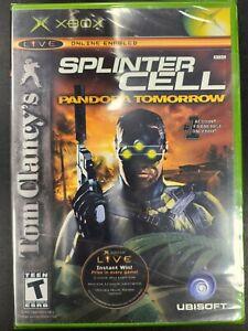 Splinter Cell Pandora Tomorrow Xbox Brand New Factory Sealed NIB Complete CIB