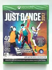 Just Dance 2017 Xbox One Brand NEW Factory Sealed Russian Cover
