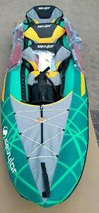 Sevylor Alameda Premium Kayak - Two Plus One Persons Pump & Paddles  EB219