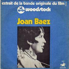 BOF WOODSTOCK JOAN BAEZ FRENCH 45 SINGLE OST