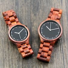 Custom Fathers Day Gift Engraved Wooden Watch Personalized Wood Watch Wedding